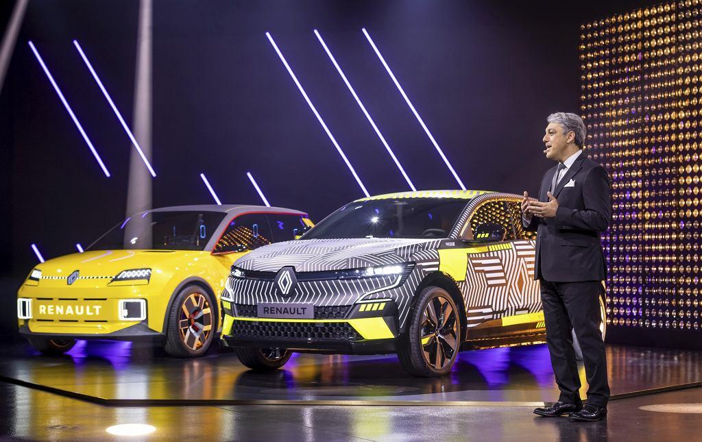 Luca de Meo na konferencji Renault eWAYS ELECTRO POP