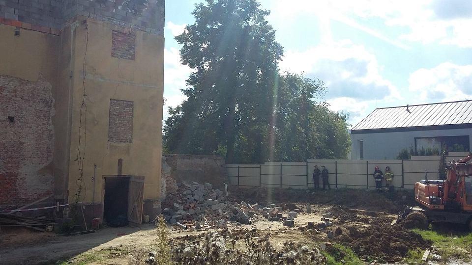 Zdjęcie numer 7 w galerii - Katastrofa budowlana w Bielsku-Białej. Zawaliła się część kamienicy