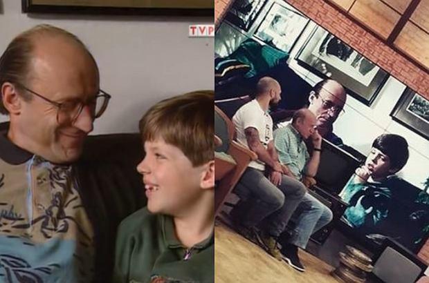 """Kto pamięta serial """"Tata, a Marcin powiedział"""", ten z pewnością kojarzy Mikołaja Radwana. Po prawie 20 latach spotkał się z Piotrem Fronczewskim. Pojawili się w """"Pytaniu na śniadanie""""."""