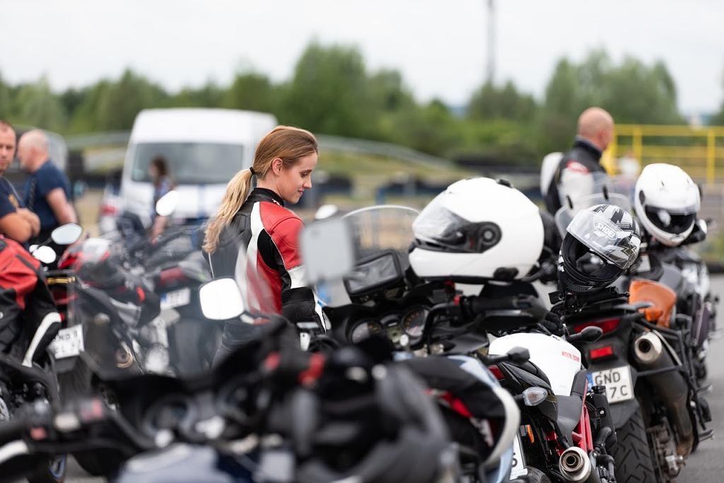 Suzuki Moto Szkoła, autodrom Pomorze, Zuzanna Krzyczkowska