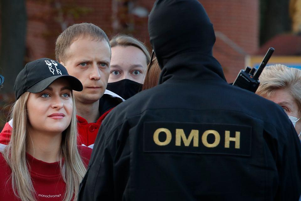 Antyreżimowe protesty na Białorusi.