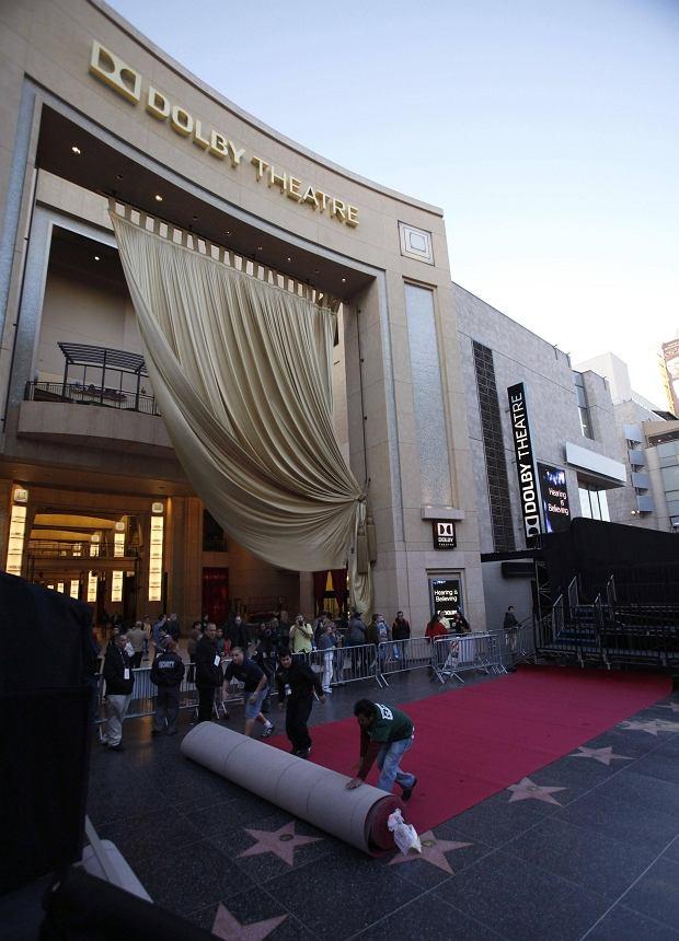 Dolby Theatre, przygotowania Oscary 2013