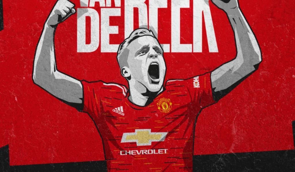Van de Beek w United