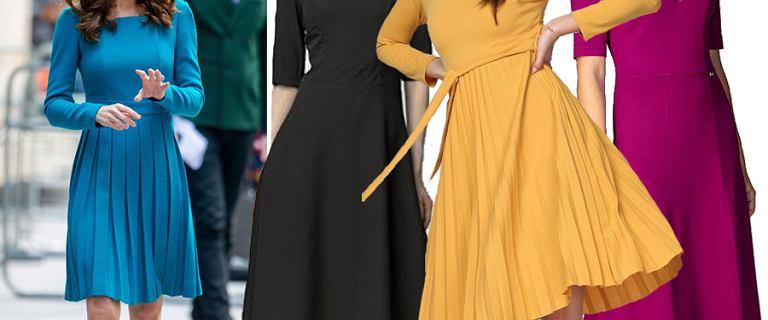 Retro sukienki w stylu księżnej Kate. 18 eleganckich i szykownych modeli