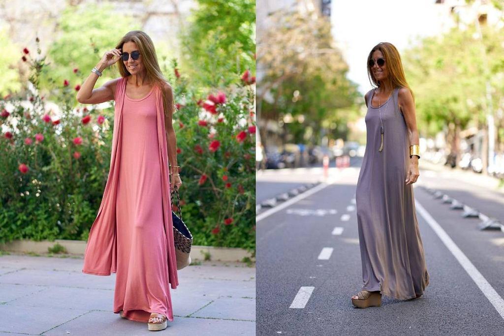 Piękne zwiewne sukienki dla kobiet po 50-tce
