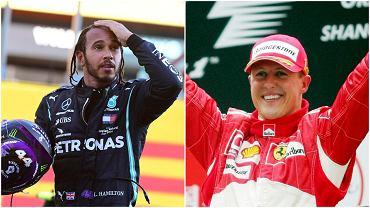 Lewis Hamilton i Michael Schumacher