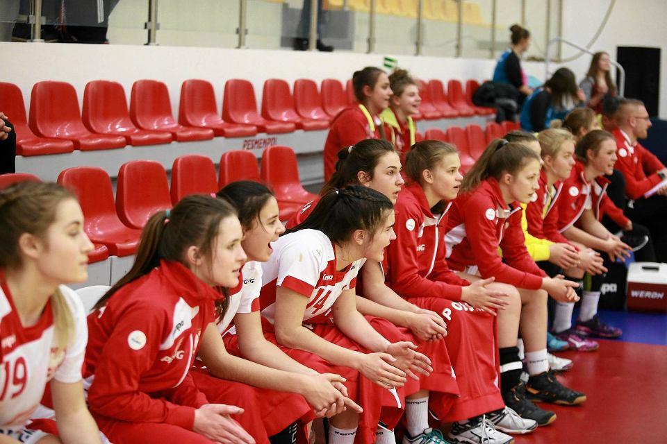 Zdjęcie numer 5 w galerii - Polskie juniorki młodsze zaczęły turniej w Płocku od porażki [FOTO]