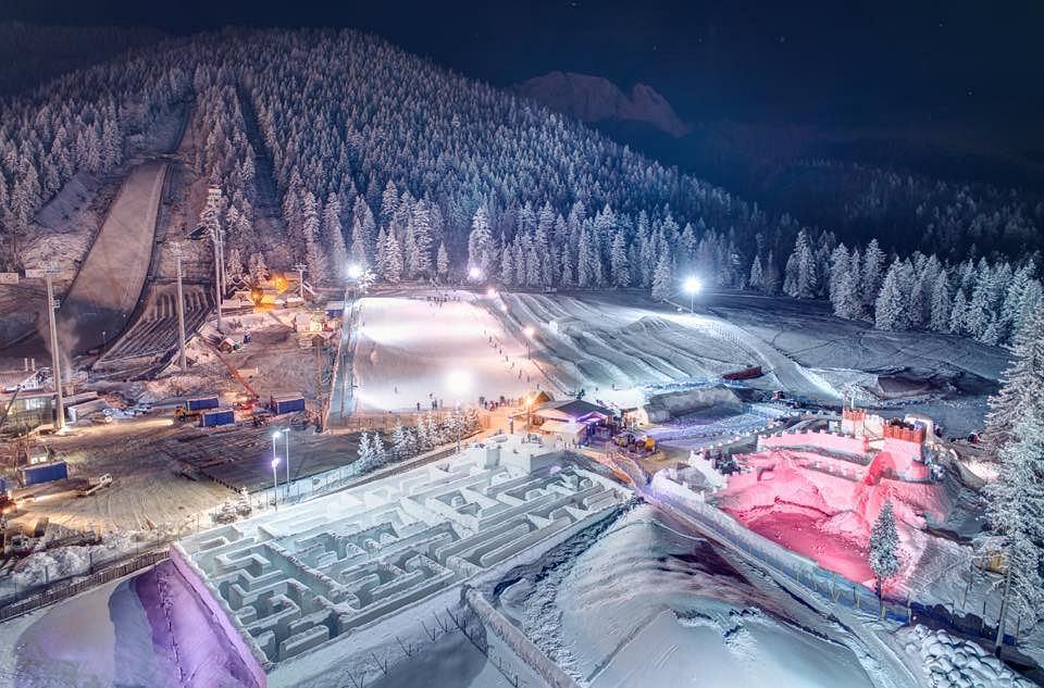śnieżny Labirynt Pod Wielką Krokwią W Zakopanem Ponownie Otwarty
