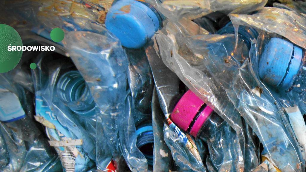 Plastikowe butelki mogą posłużyć do budowy dróg