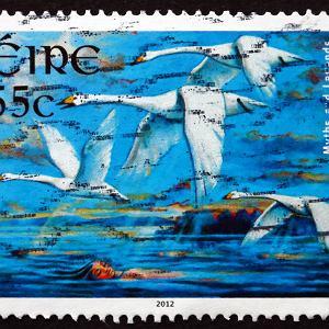 Znaczek pocztowy Irlandia