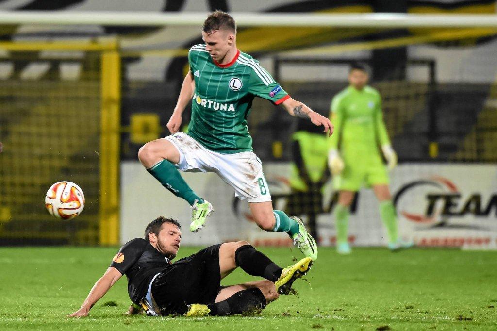 Lokeren - Legia 1:0