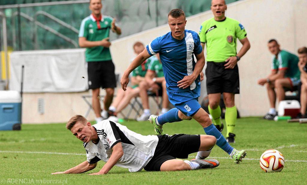 Finał Centralnej Ligi Juniorów: Legia Warszawa - Lech Poznań 3:0. Jakub Zagórski