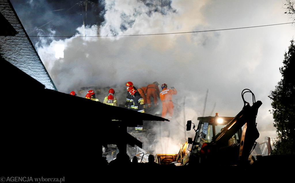 Po wybuchu gazu w Szczyrku runął dom