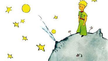 Mały Książę. Ilustracja z okładki książki