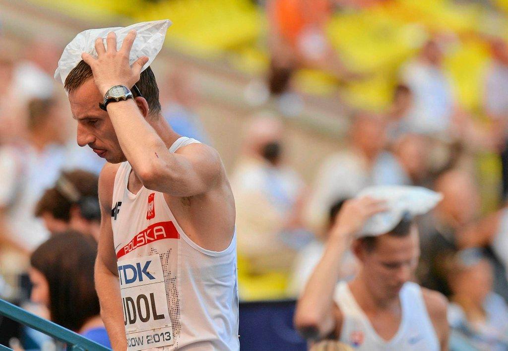 <b>Grzegorz Sudoł</b> (KS AZS AWF Kraków, 35 lat) - chód na 50 km