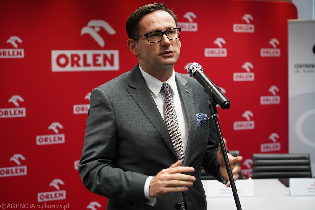 Prezes zarządu Orlenu Daniel Obajtek