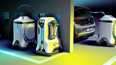 Robot ładujący samochody elektryczne, Volkswagen