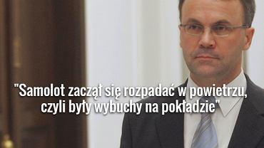 Jarosław Sellin o katastrofie smoleńskiej