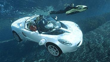 Rinspeed sQuba jest autem w pełni elektrycznym