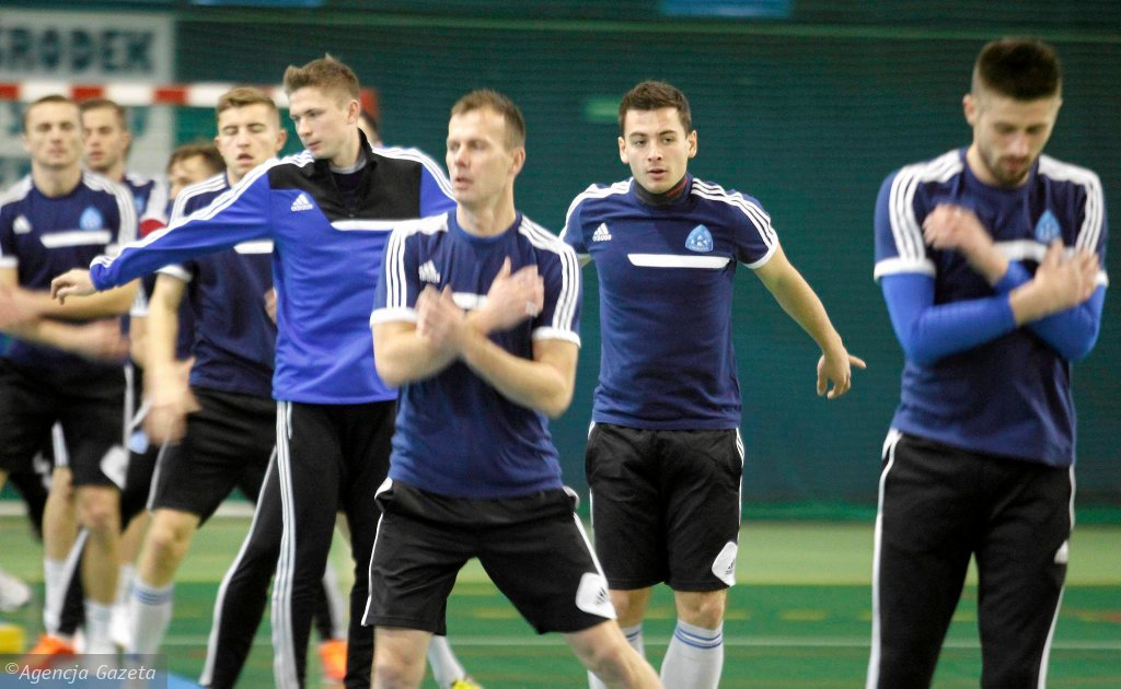 Trening Ruchu Chorzów