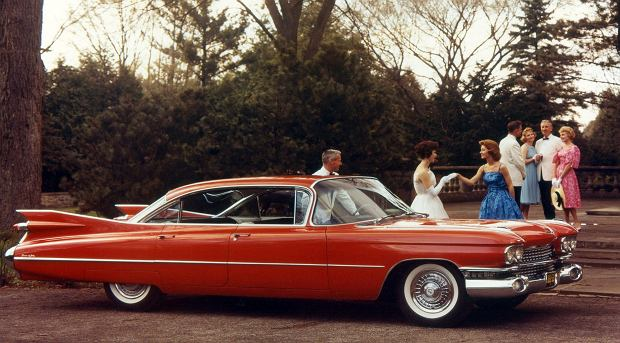 Cadillac Sedan Deville 6-window