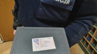 Mężczyzna pokazał policji zalaminowane ksero prawa jazdy, które stracił w 2016 r.