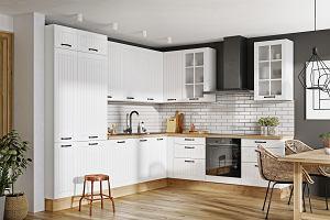 Frezowanie: szafki kuchenne z ozdobnym frezem