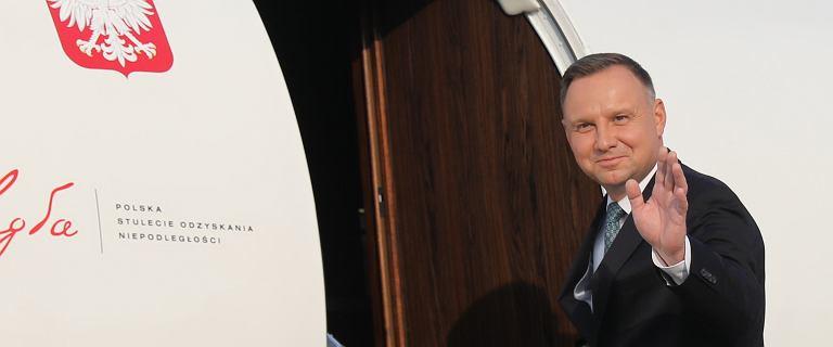 Dokąd najczęściej lata Andrzej Duda? Dane z listy lotów HEAD