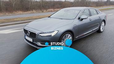 Volvo S90 T8 w Studiu Biznes
