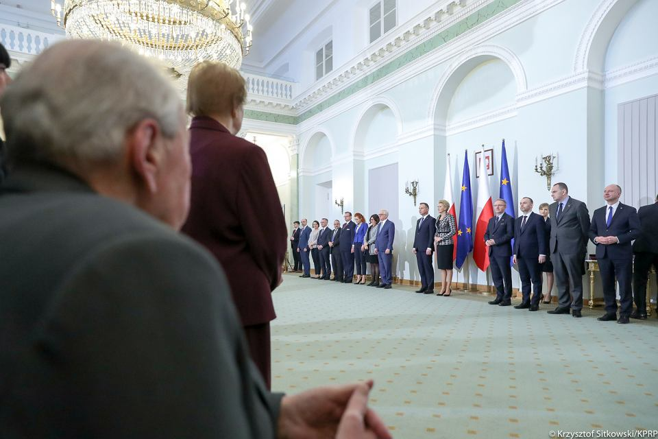 Wręczenie odznaczeń dla Polaków ratujących Żydów w czasie wojny
