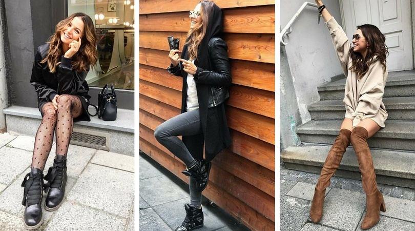 3 jesienne trendy, które lansuje Anna Lewandowska