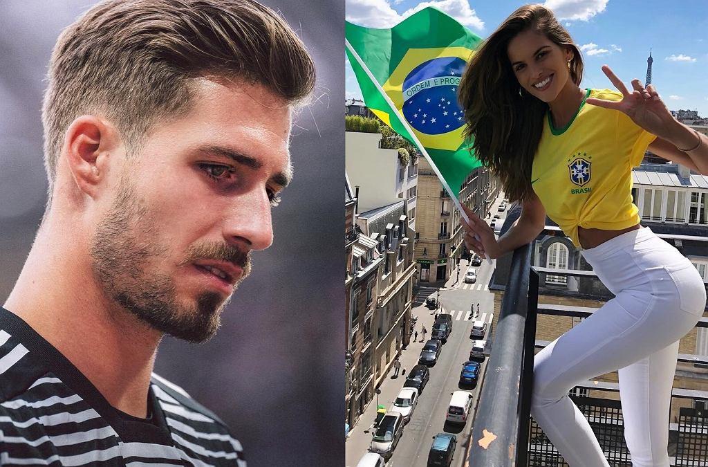 Izabel Goulart świętuje zwycięstwo Brazylii, a jej niemiecki partner Kevin Trapp odpadł z turnieju