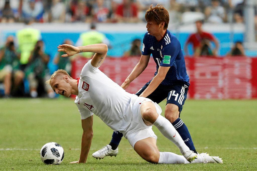 MŚ 2018. Polska - Japonia 1:0. Łukasz Teodorczyk
