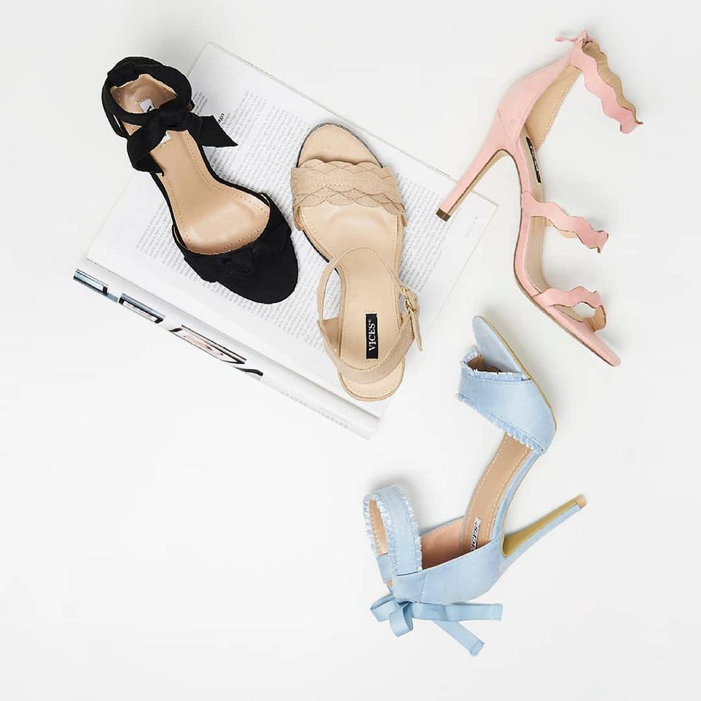 Sandałki idealne do sukienki