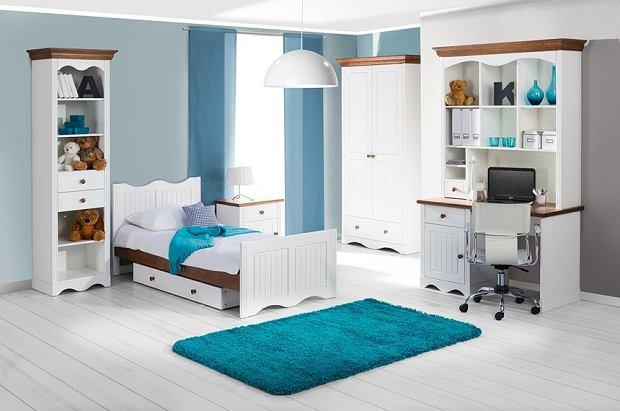 Białe meble do pokoju dziecięcego - połącz je z kolorem