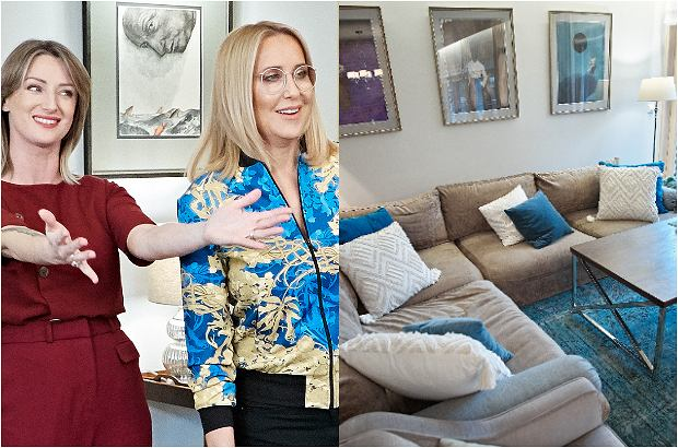 """Agata Młynarska w programie """"Gwiazdy prywatnie"""" emitowanym w TVN Style pokazała, jak urządziła własne mieszkanie. Dom prezenterki zachwyca połączeniem nowoczesnego stylu z antykami. Całość jest bardzo elegancka. Największe wrażenie robi ogromny salon połączony z jadalnią."""