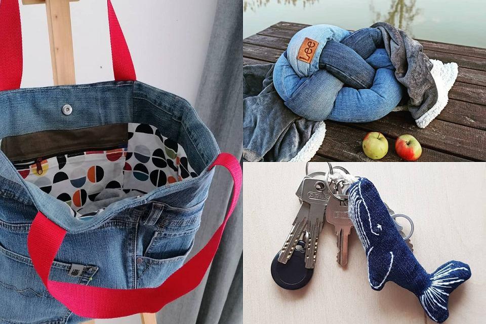 Jak wykorzystać skrawki jeansów?