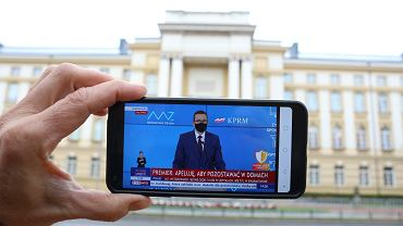 2Konferencja Premiera Mateusza Morawieckiego online