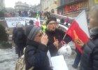 """Manifestacja KOD w Bielsku-Białej. """"Mam dość działania władzy"""""""
