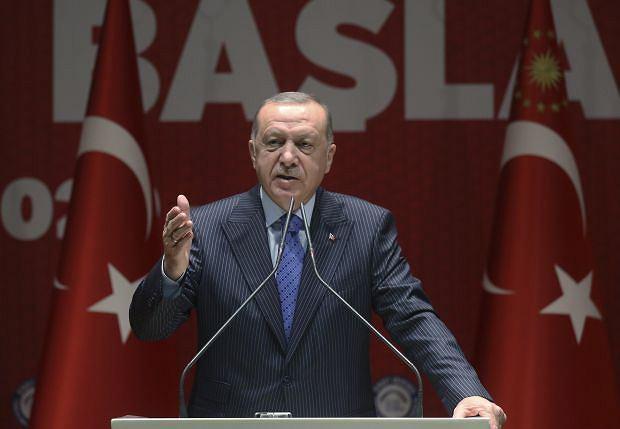 Prezydent Turcji Recepa Tayyipa Erdogana