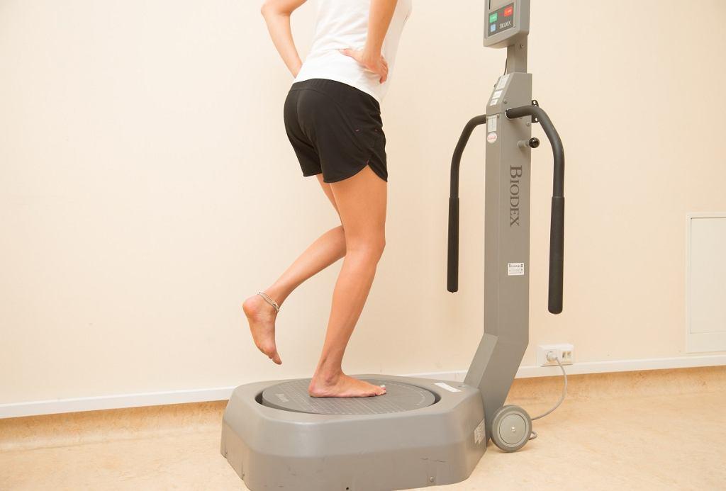 Dzięki badaniom funkcjonalnym można określić dysproporcje w sile mięśniowej nóg biegacza