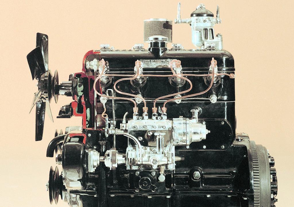 Silnik wysokoprężny Mercedesa 260 D