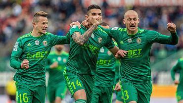 Piłkarze Śląska uratowali się przed degradacją do I ligi