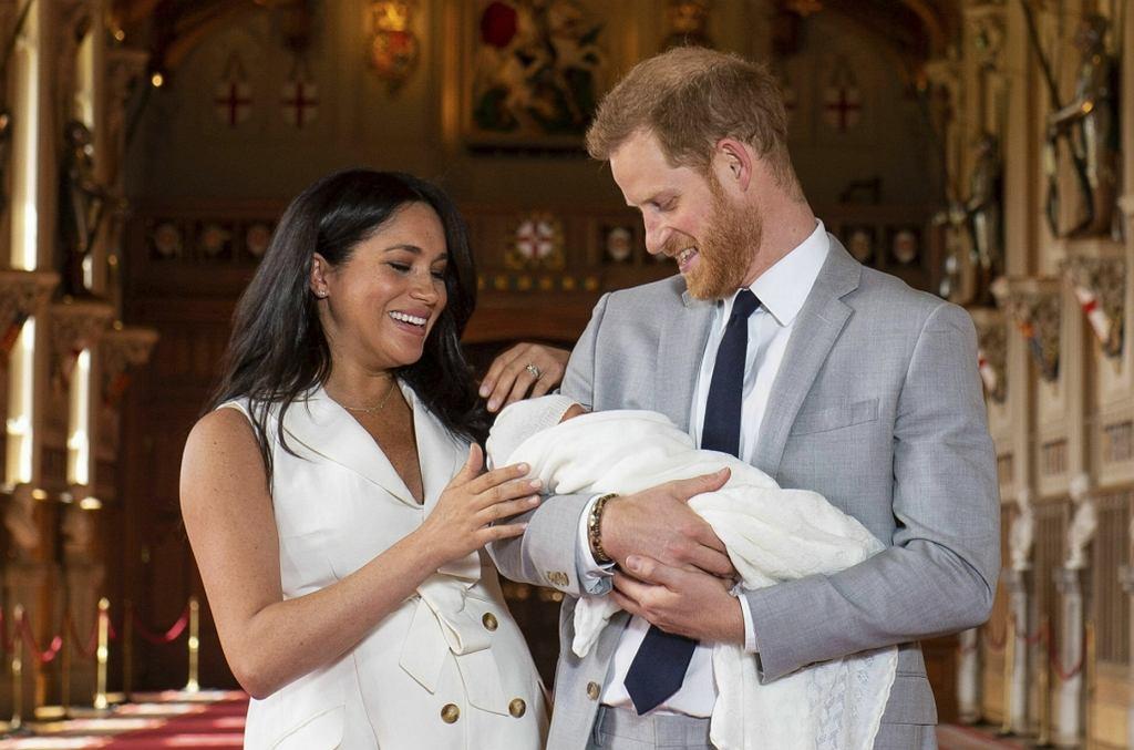 Meghan Markle i książę Harry zdradzili, jak ma na imię ich dziecko