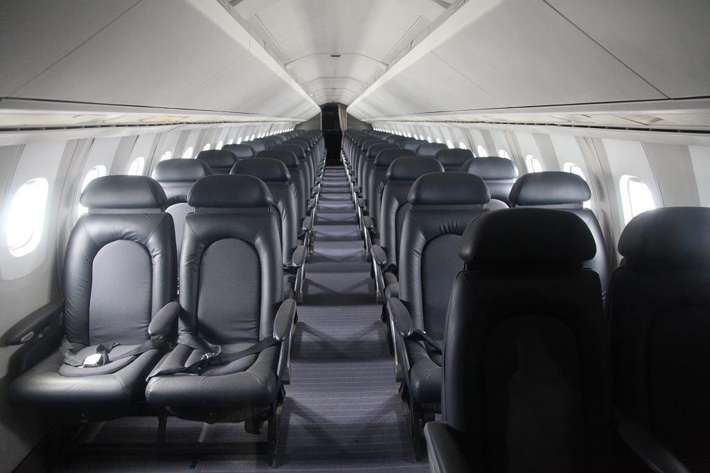 Wnętrze Concorde'a