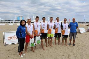 Siatkarze zakończyli rywalizację na plaży w Sopocie