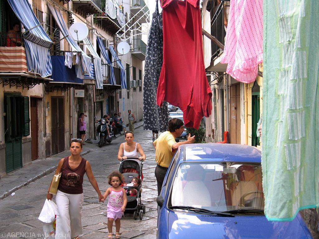 Palermo. Na ulicy w dzielnicy Noce znaleziono ciało 44-letniej Polki.Zdjęcie ilustracyjne
