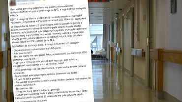 22-letnia Michalina poczuła się 'zażenowana i upokorzona' tym, co usłyszała od ginekologa
