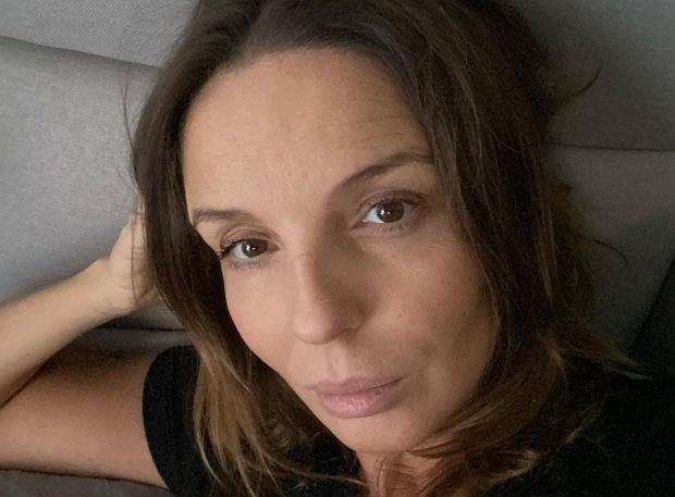 """Agnieszka Włodarczyk narzeka na końcówkę ciąży. """"15 przystanków na toaletę i ból kości ogonowej"""""""