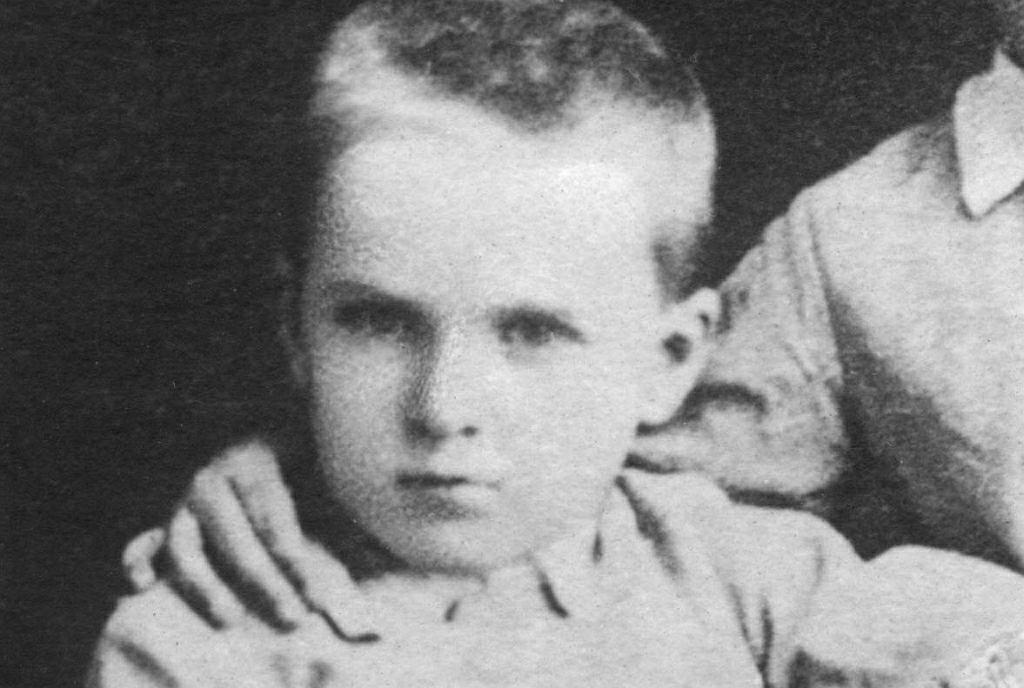 Józef Piłsudski w roku 1872, w wieku ok. 5 lat